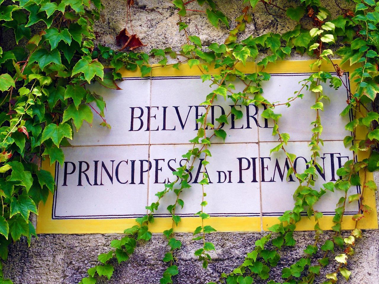 Belvedere Principessa de Piemonte