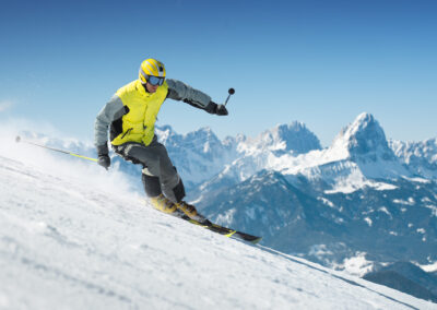 Try Triangle Skiing