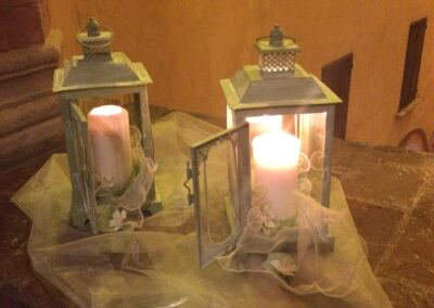 Candles At tThe Castle