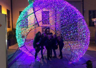 Christmas fun in Parma