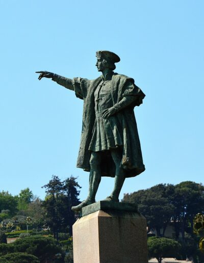 Christopher Columbus set sail from Rapallo