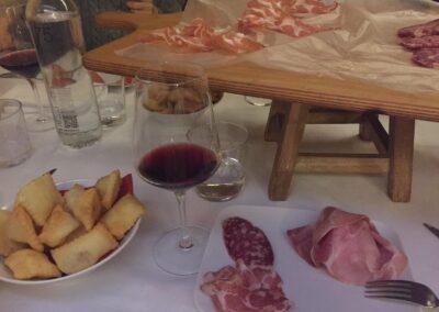 Parma appetiser