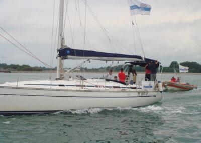 Sailing in Venice