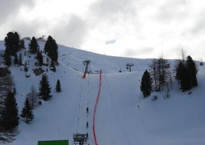 Skiing Val di Fassa