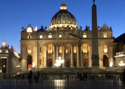 St Peter's by Night