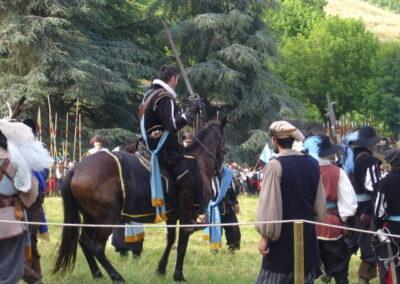 Battle enactment in Canelli