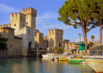 Castle in picturesque Sirmione
