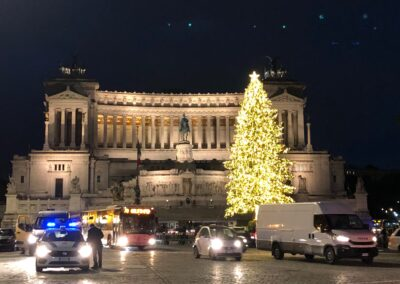 Christmas in Piazza Venezia