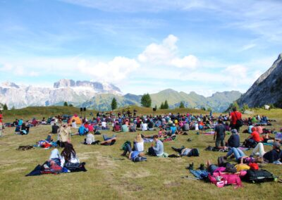 Concert in the Dolomites