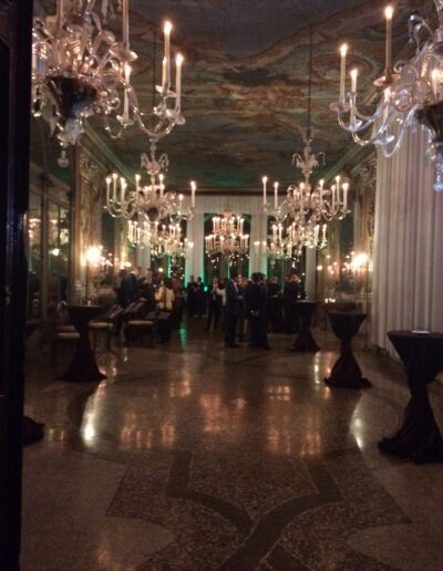Private party in a Venetian Palace