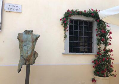 Sculptures in Pietrasanta