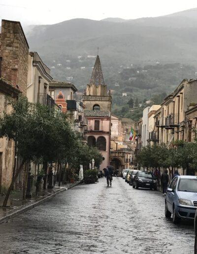 Typical mountain village