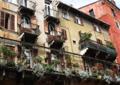 Verona with colours