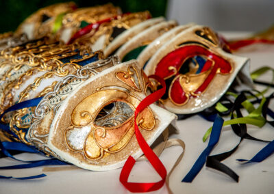Enhance your event with a masked ball